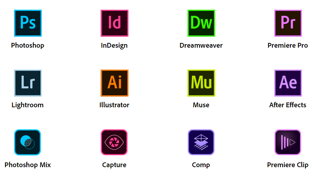 Adobe Creative Cloud for students & staff